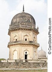 Jamsheed Quli Qutub Shah tomb - Tomb of Jamsheed Quli Qutub...