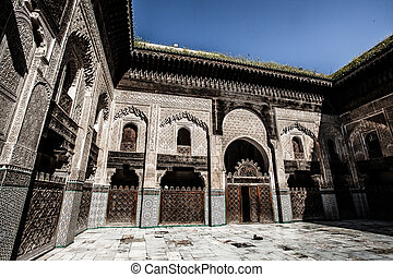 This Medersa is a religious school or college for the study of the Islamic religion.