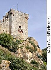 castelo, Almodovar, del, Rio, Andalusia, Espanha