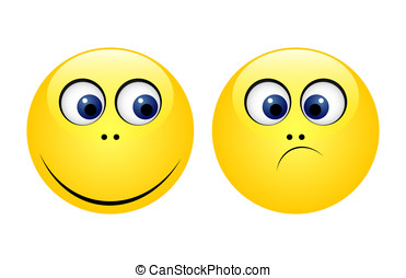 Characters of yellow emoticons