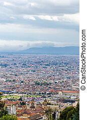 Cityscape View of Bogota, Colombia