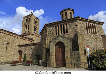 Church of Santa Eugenia de Berga - Romanesque Church of...