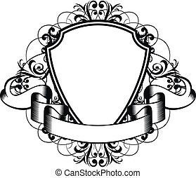 frame - Vector illustration decorative frame with patterns