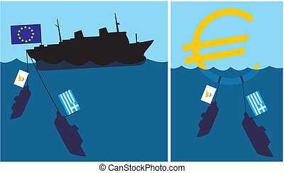 sinking eurozone - cypriot and gree - Cypriot crisis, threat...