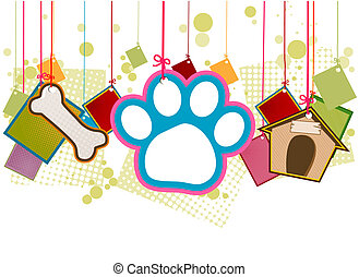 Pet Items with Clipping Path