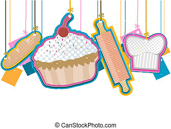 Baked Goods with Clipping Path