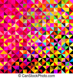 Abstract Vector Background - Abstract Vector Geometric Color...