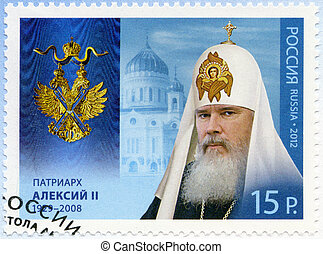 RUSSIA - CIRCA 2012: A stamp printed in Russia shows...
