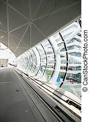 urban tunnel - train tunnel in modern design style