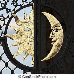 luna, sol