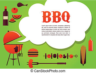 BBQ illustration