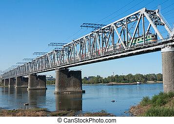 Trans Siberian railway bridge - the Trans Siberian railway...