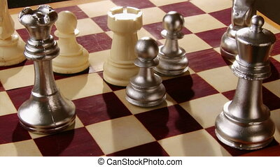 Chess, chessboard - Chessboard, pieces