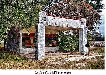 Old service station - Old Georgia filling station