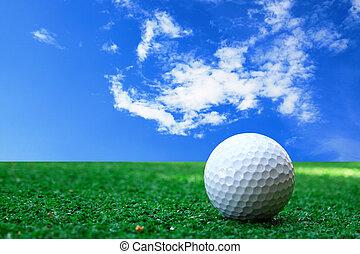 golf-ball, cours