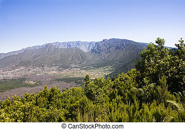 Caldera Taburiente in La Palma Canary Islands The largest...