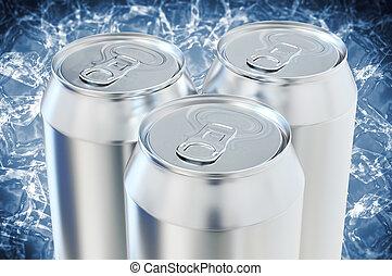 alumínio, Cerveja, latas