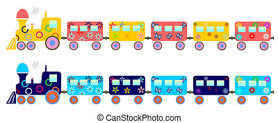 childrens train - Childrens train colors for girls and boys...