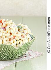 Macaroni Salad - Macaroni salad with mayonaise and...