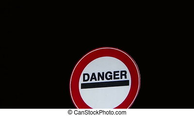 Danger - Signs - Traffic Signs Concept