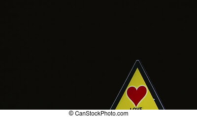 Love - Signs - Traffic Signs Concept