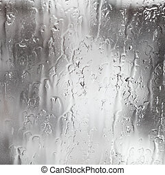 rain streams on window - abstract background rain streams on...