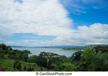 Arenal lagoon - The volcanic lagoon of Arenal, Costa Rica