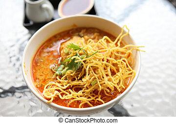 Noodle Khao soi , Thai food
