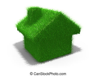 Green House - Computer generated image - Green House .