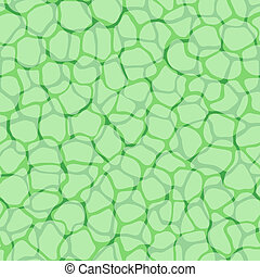 Plant cells micro pattern vector background - Cells bio...
