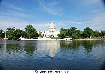 Capital Hill, Washington DC, USA