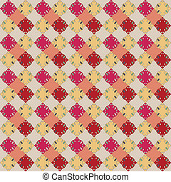 Seamless color pattern