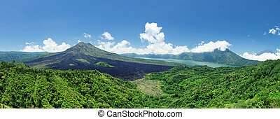 Batur volcano - Mount Batur- One of the famous volcanos in...