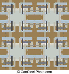 Seamless pattern of rectangles