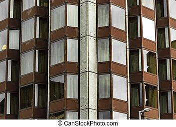 建築物,  Windows, 現代, 簽