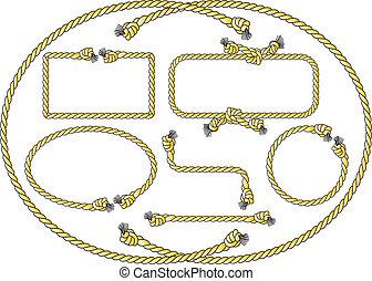 繩子, 框架