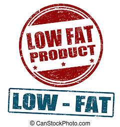 Low fat product stamps