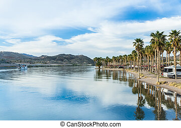 Tranquil Waters of the Colorado River - A riverboat tour...