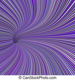 3d render tunnel pipes in multiple purple magenta colors