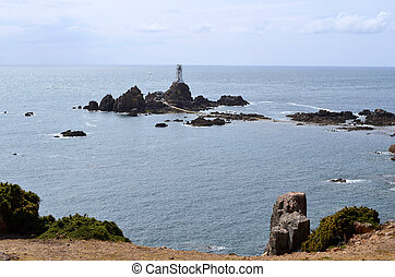 GB, Jersey - Great Britain, Jersey Island, La Corbiere...