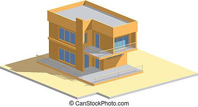 Residential house orange