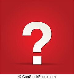 EPS Vector 10 - question mark web icon design