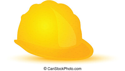 Yellow Hard Hat, Construction Helmet