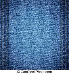Blue jeans realistic denim texture