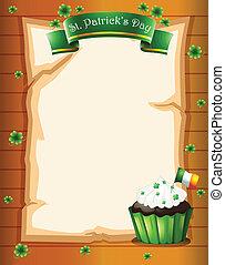 A St. Patrick's day stationery