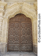 Astorga Cathedral door