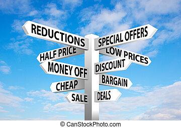 Sale Signpost