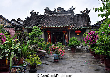 Buddhist pagoda, Hoi An, Vietnam - Chinese Assembly Buddhist...