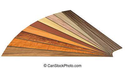 wooden laminated construction planks isolated on white...