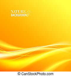 Tender orange light abstract background Vector illustration,...